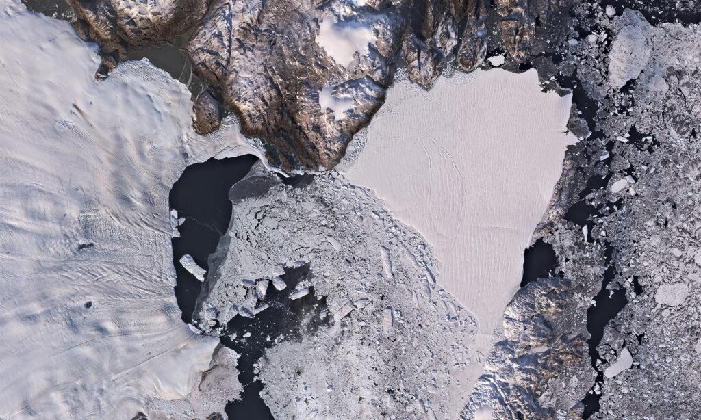 Zachariae Isstrøm Nord Øst Grønland